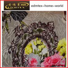 Knitting tecido de impressão Fleece para cortina
