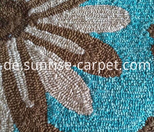 Outdoor Handhooked carpet rug