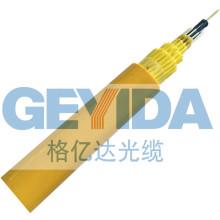 Cable de fibra óptica de desmontaje interior de 48 núcleos con PVC retardador de llama