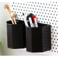 Metal Pen Pencil Holder Box Oragnizer