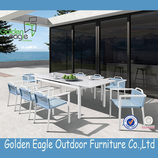 Dedon outdoor aluminum furniture