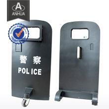 Professionelle Militärpolizei Kugelsichere Schild mit Rädern