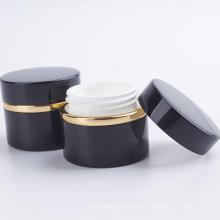 Rundes Design Acryl Kosmetik Gesichtscreme Glas