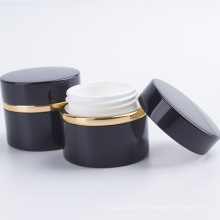 Round Design Acrylic Cosmetic Face Cream Jar