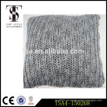 Ropa de cama y acrílico al por mayor almohada decorativa cubre cojín bloster con alambre de metal Calidad de la elección