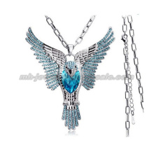 2014 New Owl Shape Charms Winter Sweater Chain Pendants