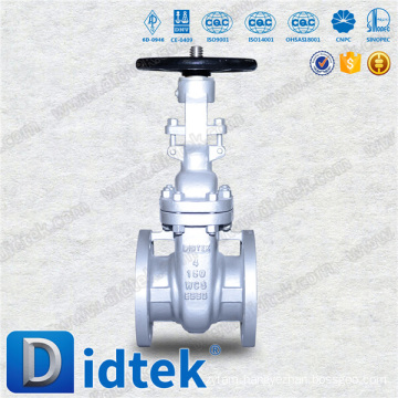 Trade Assurance Didtek API600 4'' 150LB WCB Stem Gate Valve Used In Oil Industrial
