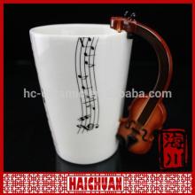 Porzellanmusik-Kaffeetasse