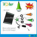 CE y patente portátil LED luz que acampa solar