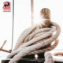 El amarre marino utilizó las colas de amarre de las cuerdas del filamento del nilón 8, líneas de amarre