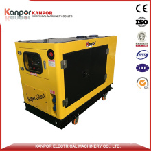8kw Single Cylinder Water Cooled Diesel Generator with New Design