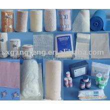 Rollos médicos de vendaje elástico