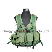 Equipo militar Verde chaleco táctico de Molle para el ejército (HY-V057)
