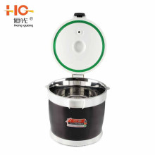 High quality low quality stainless steel no fire re-cooking energy saving vacuum cooking pot ss304 stainless steel stock pot