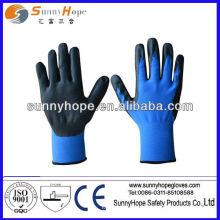 Nithel Unbehandelt Schaum beschichtet Handschuh mit verschiedenen Farben