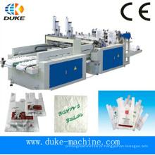 Hot Cutting Bottom Sealing saco de compras de plástico que faz a máquina (DFHQ-350X2)