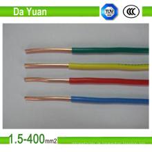 Fester flexibler kupferner elektrischer PVC-Kabel