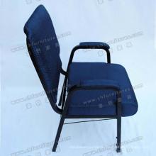 Church Chair with Back Cushion and Armrest (YC-G38-14)