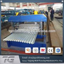 Все автоматические машины для производства рулонной плитки из гофрированного металла в Китае
