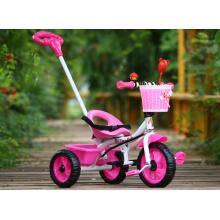 Passeio pequeno das crianças do quadro do metal no triciclo das crianças dos brinquedos