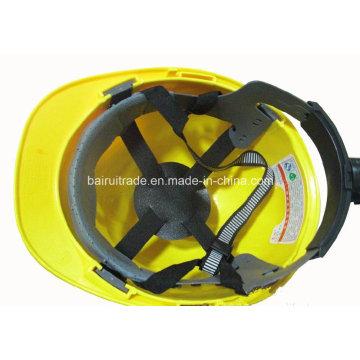 ABS/PE Comfort Protective Hat Adjustable Msa Safety Helmet for Export