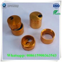 Anodizado a medida de chapa de oro Chrom placa de aleación de aluminio parte