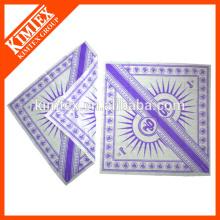Cheap square cotton printed custom designer scarves