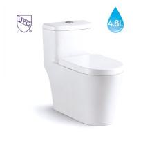 Venta caliente de una sola pieza de ahorro de agua WC estándar estadounidense