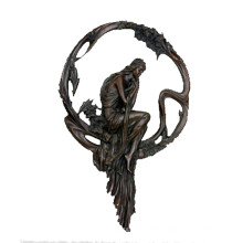 Relief Brass Statue Female Relievo Carving Bronze Sculpture Tpy-691