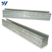 Wholesale Galvanized High Quality China Promotion Cold Formed C Channel Steel Section Sizes
