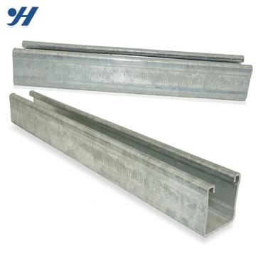 Canal de aço galvanizado zinco dos perfis dos materiais de construção C do fornecedor de China do material de construção