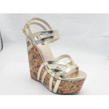 New Design Ladies Chunk Sandals (HCY03-042)