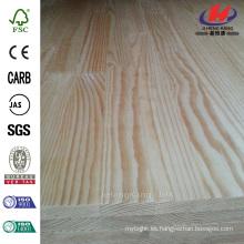 96 pulg x 48 pulg x 6/7 en paneles de madera de abeto
