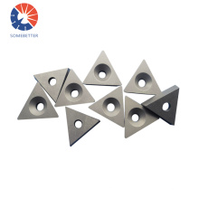 High Efficiency Triangle Sumitomo Pcd Positive Turning Tool Inserts For High Speed Cutting Of Aluminum