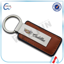 China Custom Metal Leather Keychain Wholesale