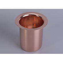 Rose Gold Stainless Steel Candle Vessel