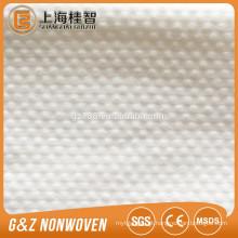 amostra livre gravada ponto tecido da tela do spunlace amostra gravada