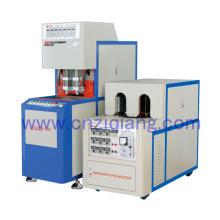 2 Cavity Pet Semi-Automatic Blow Molding Machine 0.5L