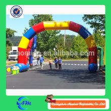 Arco inflável de alta qualidade forma arco