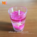 2017 Alibaba Best Seller New Outlet Yellow Gel Candle En stock