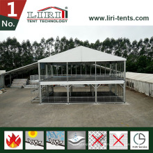 Tente à deux étages pour événements extérieurs à vendre