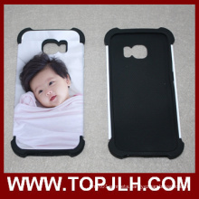 TPU+PC Sublimation Mobile Phone Case for Samsung Galaxy S6