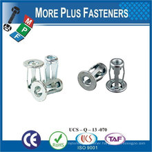 Made in Taiwan Stainless Steel Blind Jack Nut 1/4-20 x 0.71 Screw