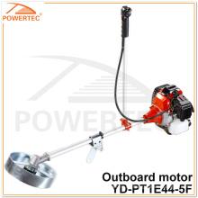 Motor fuera de borda de la gasolina del motor del condensador de ajuste de la hierba de POWERTEC 51.7cc 1.6kw (YD-PT1E44-5F)