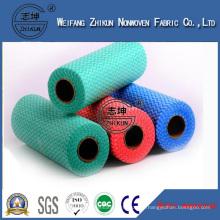 Wipe Viscose Polyester Spunlace Nonwoven Fabric