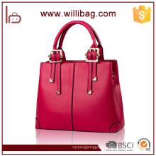 China Elegance Lady Leather Tote Bag Hot Sale Fashion Handbag