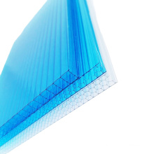 1-5 mm explosion-proof fence recyclable PC environmental  honeycomb polycarbonate sheet for yacht material wind tunnels