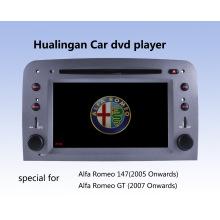 Car DVD Player Automático DVD GPS Audio para Alfa Romeo 147 (HL-8805GB) com MP5 Player Manual