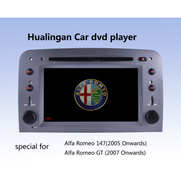 Автомобильный DVD-плеер Auto DVD GPS Audio для Alfa Romeo 147 (HL-8805GB) с руководством MP5 Player