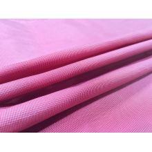 Veste imperméable à l'eau et au vent Tissé Dobby Plaid Jacquard 23% Polyester + 77% Nylon Blend-Weaving Intertexture Fabric (H048)